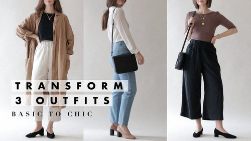 How I Transform My Outfits from Basic to Chic | Dearly Bethany - YouTube
