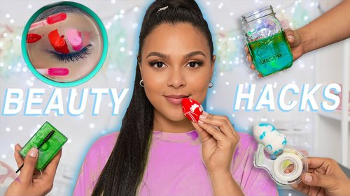 How to Apply Makeup PERFECTLY! DIY Makeup Hacks & Gadgets for Beginners! - YouTube