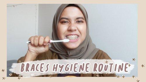 😁 cara membersihkan gigi berbehel dengan tepat dan benar 😁 - YouTube
