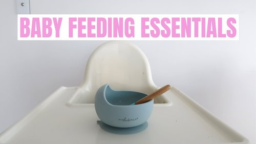 10 baby feeding items you NEED when starting solids {Krissy Ropiha} - YouTube