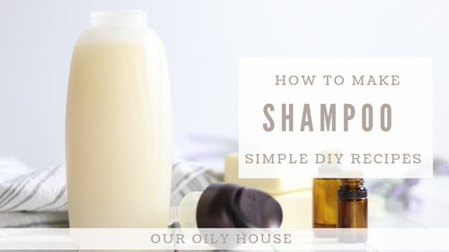 How to Make All Natural Shampoo | Simple Recipe using Essential Oils - YouTube