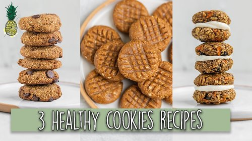 3 Healthy Vegan Cookie Recipes (That Don't Suck) 😉 - YouTube