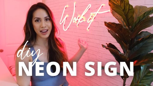 DIY Neon Sign   Make it Yourself - YouTube