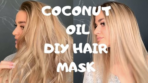 HOW TO GET SMOOTH AND SILKY HAIR - DIY COCONUT OIL TREATMENT - 2019 UPDATED ROUTINE - YouTube