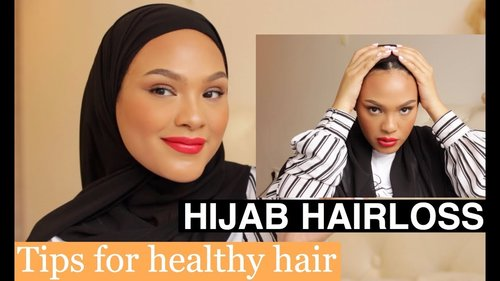 WHY I WENT BALD /  HIJAB HAIR CARE ROUTINE... - YouTube