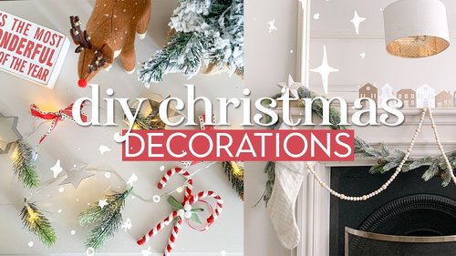 DIY Christmas Decorations Cheap Easy and Modern Christmas Decor Ideas - YouTube
