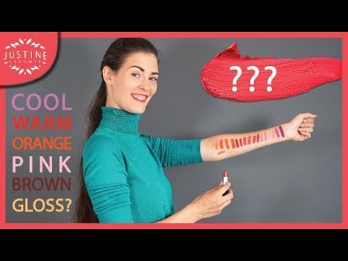 How to find the perfect lipstick shade for you ǀ Justine Leconte - YouTube