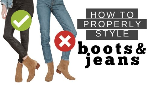 How To Wear Boots With Jeans | DOs & DONTs - YouTube