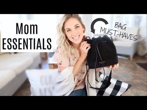 What's In My Bag | Mommy Edition | Essentials - YouTube