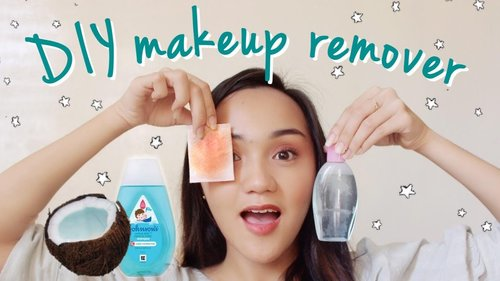 DIY Makeup Remover with 2 Home Ingredients Only by Ana Esmeralda - YouTube