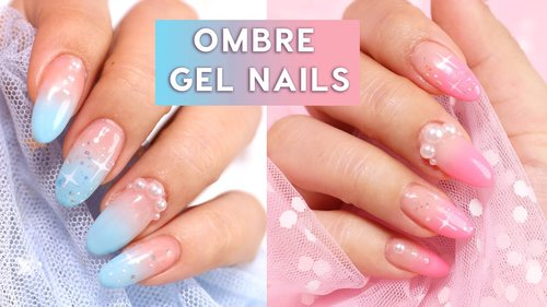 Easy Ombre Gel Nail Art 💅🏻 - YouTube