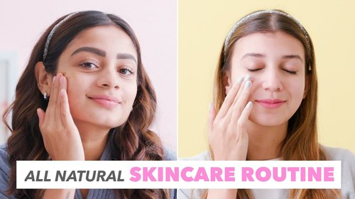 DIY Natural Skincare Routine | Oily & Dry Skin - YouTube