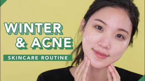 ❤️Affordable Winter Skincare Routine for Acne Prone Skin - YouTube