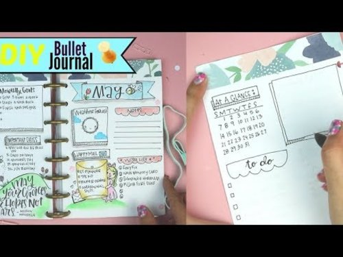 """<div class=""""photoCaption"""">DIY Bullet Journal 