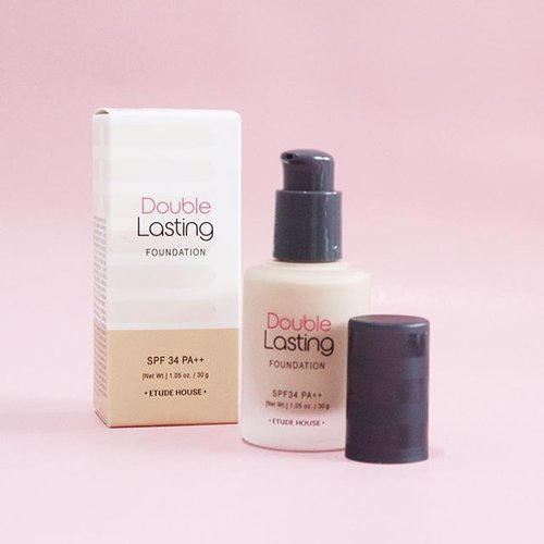 Did Review and Demo for Etude House Double Lasting Foundation!Read more: goo.gl/pfBd86#ALTERCOUTUREblog #fdbeauty #clozetteid #etudehouse #makeup