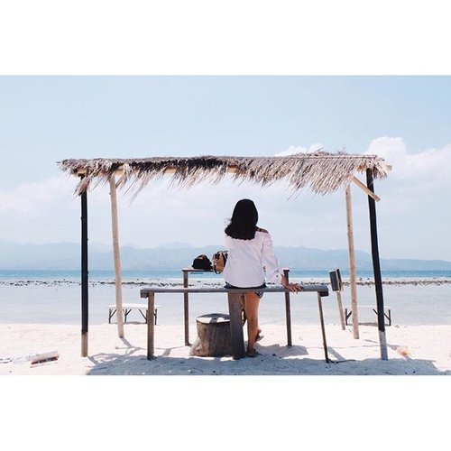 Somewhere only we know ☀️🌊 #visitlombok #gilitrawangan #clozetteid #vsco #vscocam