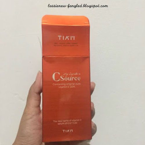 Lassie Newfangled: [Review] TIA'M My Signature C Source Serum