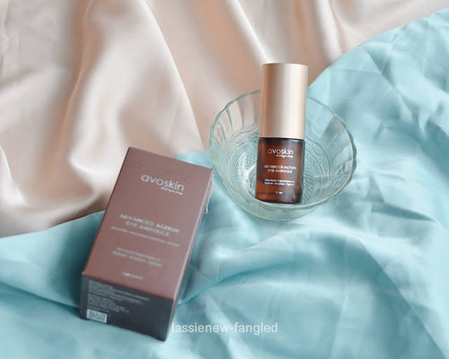 Lassie Newfangled: [Review] Avoskin Advanced Action Eye Ampoule: 3 Bulan Pemakaian