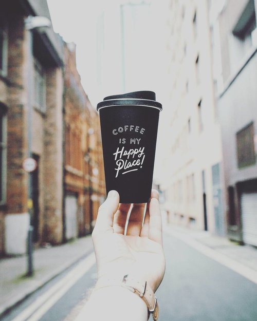 Me & my coffee is like you and your stupid love stories ✌🏻😁 yes, we are in deep serious relationship 😎 📷 from Pinterest  #coffee #quoteoftheday #clozetteid #lifestyleblogger #socialmediamom #coffeefreak #addictedtocoffee