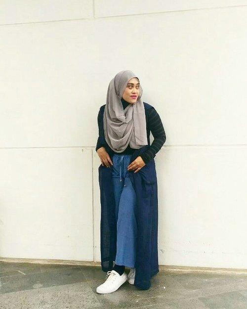 💙💚💛💜❤ #clozetteid #hijab #ootd #hijabstyle #hijabfashion #hijabi #mysignaturestyle