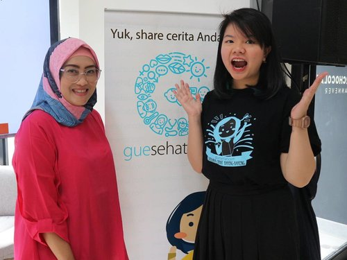 Happy to meet Co-Founder @guesehat, Robin. 💞#discovernewbeauty #guesehat #pakaiguesehat#lifestyleblogger #socialmediaqueen #mommyblogger #lifeofablogger #socialnmediamom #clozetteid #saturday