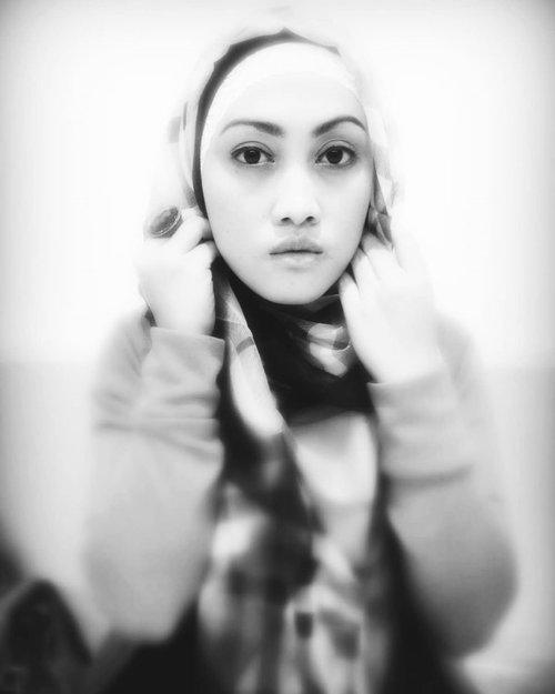 Challenge accepted @ini_rini 💕Monmaap setelan bibir emang begitu dari sananya ✌🏻#womenempoweringwomen #womensupportingwomen#ClozetteID #sahabattaat #temanhijrah