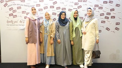 My #LtruSquad 😘 minus mba @rachanlie yang pulang duluan. 🤗  #clozetteid #style #ihbcommunity #ihblogger #fashion #hijab #ootd #friendship #mysquadisbetterthanyours #love #life #SocialMediaQueen