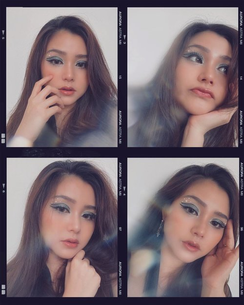 my #virtualphotoshoot ala ala🤣 . . . . #makeup #photooftheday #photography #clozetteid #boldmakeup #quarantine #love #peace