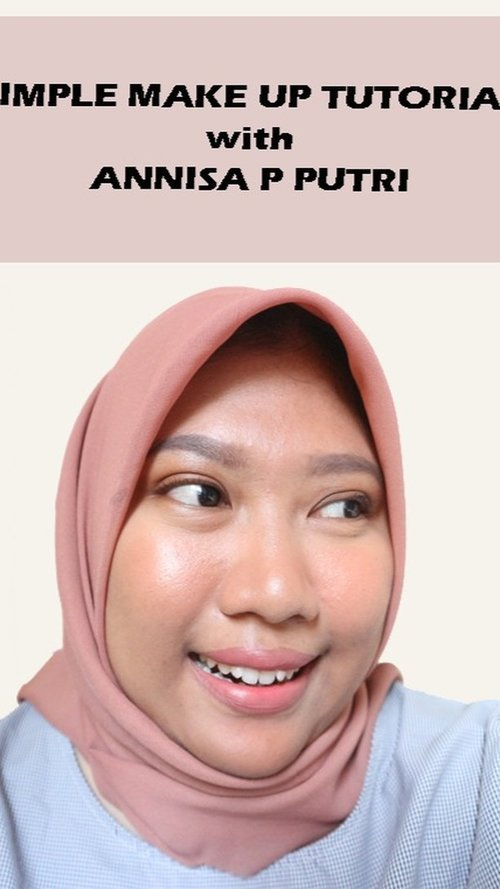 Hai There! Kali ini aku buat video simple make up aja yang suka aku aplikasikan ketika keluar rumah. Untuk detail produknya, silahkan cek di bawah ini ya!@smashboxcosmetics Smashbox The Original Photo Finish Smooth & Blur Primer@makeoverid Make Over Powerstay Demi Matte Cover Cushion W42@luxcrime_id Luxcrime Slim Triangle Brow Pencil Ash@barrymcosmetics_id Barry M Fall in Love Eyeshadow Palette@benefitindonesia Benefit BadGal Bang Mascara@beautyboxind Urban Fix Flawless Matte Loose Powder 310 Natural@pixycosmetics Pixy Adorable Mable Classy Coral@getthelookid L'Oreal Paris Infallible Ultra Matte Les Macarons 822 Mon Caramel@nyxcosmetics_indonesia NYX Dewy Finish Setting Spray@bobbibrownid Bobbi Brown Crushed Liquid Lip Mango Mood 🎶 I LIKE U - NIKI#makeuptutorial #simplemakeup #clozetteid