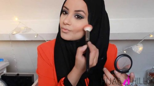 Simple makeup tutorial for a party! - YouTube