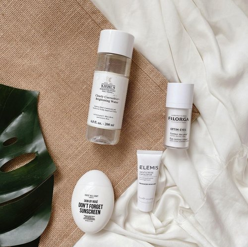 Current skincare to go. Easy, light, and what most important all fit onto my skin type. So no fussy!Tip: always check is there any ingredient that didnt match with your skin before buy any skincare (!)-#CelliSkinDayries #ClozetteID