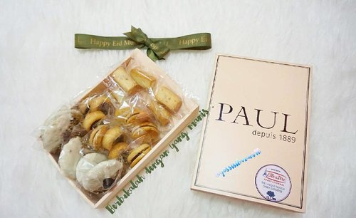 Mini Cookies from @paulindonesia  enak banget 😚😋. Cocok buat menjadi cemilan saat tamu2 datang kerumah 🍪☕. Thank you ❤ @sephoraidn x @Paulindonesia #SephoraIDNXPaulIndonesia  #SephoraIDNXHariRaya #SephoraIDNXAldoAkira #Cookies #CookiesLebaran  #CookiesSf  #PaulIndonesia  #PaulBakery  #ClozetteID