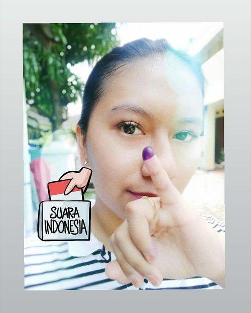 Karena Zaman telah berubah, sekarang Muda Mudi Milenial banyak yang menghasilkan karya, baik di bidang seni maupun dibidang bisnis . Tidak heran banyak juga Muda Mudi Milenial rela-relain pulang ke tempat asal demi menyuarakan Hak Suaranya untuk Pemimpin Indonesia di 5 Tahun kedepan,  Indonesia lebih baik lagi . Dan baru kali ini sejarah dalam hidup saya, niat sekali untuk nyoblos ☺️.#DamailahIndonesia #Demi5TahunKedepan#Pemilu2019#HakSuara#NoHalu#Nyoblos#AntiGolput#IndonesiaDamai#ootd #ootn #outfitoftheday#Instastyle #todayimwearing #fashion#style #styleiswhat #streetstyle#madewell #theeverygirl#everydaymadewell #fashioninsta#fashiondaily #fashionaddict#fbloggers #fashionblogger#styleblogger #lifestyleblog#bloggerstyle #beauty #ClozetteID
