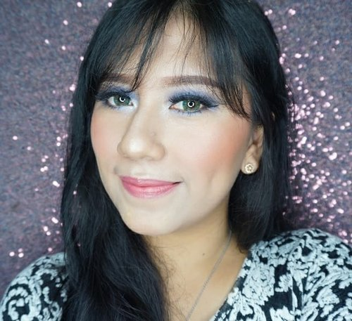 🌹FACE :  1. @makeoverid Ultra Cover Liquid Matt Foundation 02 Pink Shade  2. @byscosmetics_id HD Flawless Powder Foundation. 🌹EYEBROW :  1. @ultima_id WONDERWEAR Eye-Posh Brow Filler 01 Light Brown. 🌹EYES : 1. @ultima_id WONDERWEAR Eye-posh colour quad 02 OCEANIC  2. @ultimaii_id WONDERWEAR Eye-Posh Liquid Liner - Black  3. @studiomakeupid Waterproof mascara - Black  4. Softlens : Softlens Green Mango X2 bio Four by EXOTICON @x2softlens 🌹CHEEK :  1. @byscosmetics_id Blusher - Coral . 🌹LIPS : 1. @purbasari_indonesia EC88 Amethyst . . . . . . 📷 SONY A5100 💥 . . . . . #makeup #beauty #beautyblogger #indonesiabeautyblogger #indobeautygram #bblogger #asianblogger #bbloggers #like #like4like #follow #instabeauty #followforfollow #likeforlike #makeupindo #makeupindonesia#l4l #like #YossiMakeup #ClozetteID #Makeuptutorial #indovidgram #IVGBeauty #Indonesiabeautyvlogger #motd #youtuberindonesia #youtuber #beautybloggerindonesia #Beautynesiamember #BloggerMafia