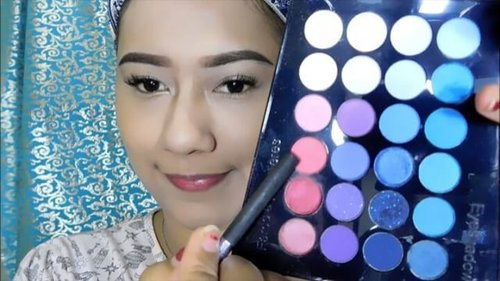 """A new Video for Valentine been featured on my youtube channel . So, don't forget to visit my youtube channel, and happy watching ❤😘..PS : All makeup products i buy at sephora store in indonesia 😍 """"Sweet a girl """"Product detail : 1.Backlight priming filter @beccacosmetics2.Base Matifiante Mattifying primer @makeupforeverid @makeupforeverofficial3.Ultra HD Foundation 125 @makeupforeverid@makeupforeverofficial4.@sephoraidn Wonderful Cushion Beige 25 5.Concealer Illuminates 01 Ivory @bourjois_id6.KA-BROW @benefitindonesia @benefitcosmetics 05 7.Shadow @toofaced – SEMI-SWEET8.Concealer Illuminates 01 Ivory @Bourjois_id9.The BrowGal Highlighter Pencil 01 – cherub shimmer10.Concealer Illuminates 01 Ivory @Bourjois_id11.Sephora Eyeshaow Palette – Crème Shimmer to my crees12.Sephora Eyeshadow Palette – Pink Soft13.Sephora Eyeshadow Palette – Ungu14.Shadow @toofaced – Milk Chocolate15.@sephoraidn Crème Eyeliners Palette – Kuning untuk dijadikan base shadow16. @MarcJacobs Palette no 7 – Pink shimmer no 517.Long Lasting & Waterproof eyeliner by Lavie18.Liner Stylo Eyeliner @Bourjois_id – 41 Noir19.Color adapt Bronzer Sephora – Unique tan20.@beccacosmetics Luminous Blush – Snapdragon21. @beccacosmetics Shimmering Skin Perfector Pressed – Champagne Pop22.Marc Jacobs Lovemarc Lip Gel – 108 Have We Met?@marcbeauty @marcjacobs23. @tangleteezeruk @tangleteezerindo - Pink Thank you dad @joonbond, for this makeup challenge 😇..#pwaindonesiaxvalentine2017#sephoraidnbeautyinfluencer#valentine #valentinemakeuplook"""