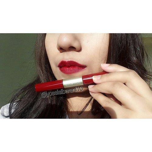 My favorite lipstick matte from @sariayu_mt DCL K -01 💄  #ClozetteID #Sariayu  #sariayuduolipcolor  #sariayumarthatilaar  #brandlocal  #indonesia  #lipstickjunkie  #makeupaddict  #Makeup #redlips  @indobeautygram  #beautybloggerindonesia  #beautyblogger #bloggers