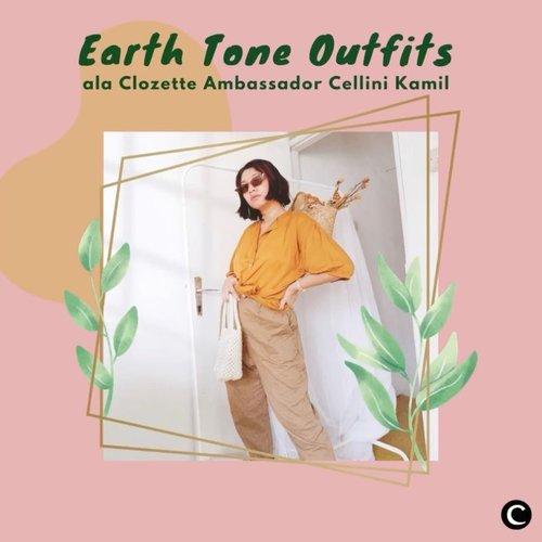 Nuansa warna earth tone yang berkesan hangat, menjadi favorit para Clozetters. Biasanya warna tersebut didominasi dengan warna nude, terracotta dan lainnya. Bisa jadi daily outfit untuk belanja ke supermarket juga, lho! Yuk, intip 5 inspirasi OOTD memakai outfit warna earth tone ala Clozette Ambassador @cellinikamil. Simak videonya, ya!  📷@cellinikamil  #ClozetteID #ClozetteIDVideo #ootd #earthtone