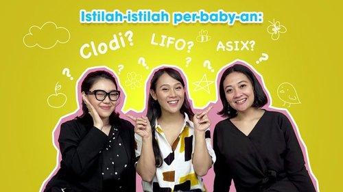 Pengalaman pertama kali menjadi seorang ibu, pastinya seperti memasuki dunia baru. Banyak yang harus dipelajari, termasuk istilah-istilah seputar baby. Kali ini, @puitika mau memberikan challenge, kira-kira seberapa familiar ibu @nisca_ dan ibu @riawidiati dengan istilah-istilah seperti Clodi, ASIX dan lainnya? Yuk, cek videonya di Youtube Channel Clozette Indonesia. Cek link-nya di https://bit.ly/IstilahParenting (click-able link di bio) . #ClozetteID #CIDYoutube #NewMoms #Parenting #Baby