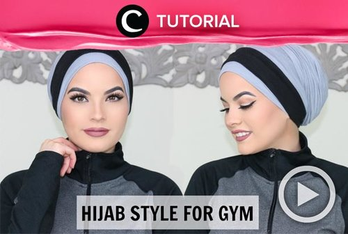 You can stay comfortable while doing sport in modestwear. Check this video for more inspiration: http://bit.ly/2OKZeWU. Video ini di-share kembali oleh Clozetter @juliahadi. Lihat juga tutorial lainnya di Tutorial Section.