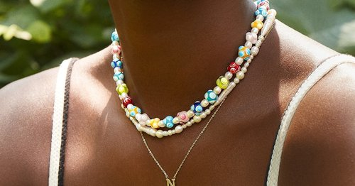 Colorful Beaded Necklaces Are Poised to Be One of Summer's Top Accessory Trends
