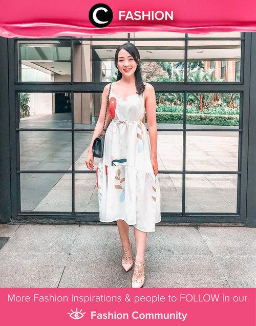 Gorgeous as always, Clozette Ambassador @theresiajuanita was wrapped in printed dress by Oudre. Simak Fashion Update ala clozetters lainnya hari ini di Fashion Community. Yuk, share outfit favorit kamu bersama Clozette.