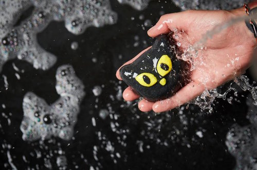 Lush just dropped its Halloween collection, so snatch up that black cat Bubble Bar ASAP