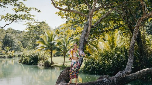Spring's Lightest and Brightest Looks Take a Jamaican Holiday