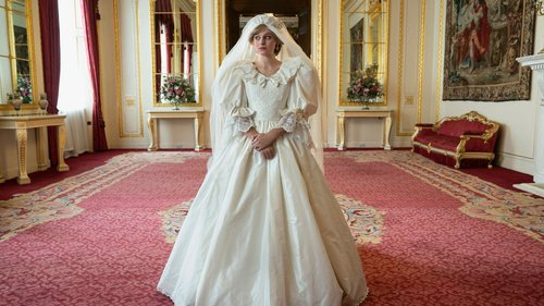 You Can Zoom In on Princess Diana's Wedding Dress With 'The Queen and the Crown'
