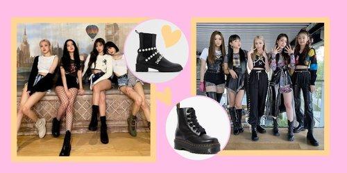Referensi Boots Seperti Milik Girlband K-pop Favorit Kamu