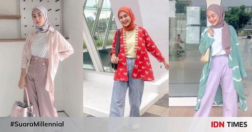 9 Inspirasi OOTD Hijab Simple ala Dianty Annisa, Cocok untuk Hangout!