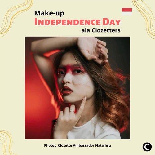 Dalam rangka Independence Day Indonesia yang ke-75, ada beberapa content creator yang membuat konten bertema kemerdekaan Indonesia. Ada yang menggunakan outfit bernuansa merah putih, foto dengan bendera Indonesia, hingga membuat make-up look. Yuk, intip kreasi make-up look bertema Independence Day ala Clozetters. Simak videonya, ya!📷@nata.hsu @anitamayaa @tyas8818 @awkdewi @allseebee#ClozetteID #ClozetteIDVideo  #independenceday #dirgahayuRI #kemerdekaanIndonesia