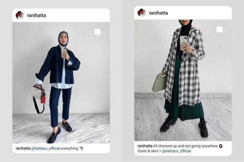 Muslim Modest Wear A la Rani Hatta, Simple dan Modern!