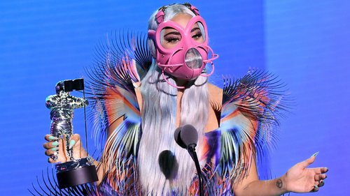 Lady Gaga Kicks Off the VMAs in Social Distancing-Appropriate Couture