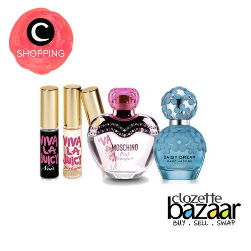 Lebih bersemangat di hari ini bisa kamu dapatkan lewat: http://bit.ly/bzrperfumecrew Wewangian dari berbagai parfum pilihan di #ClozetteBazaar yang pastinya menyegarkan!